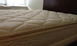 $250 OBO Queen Size Bed Frame, Mattress, and Box Spring