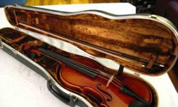 $250 Violin: Stradivarius Copy, Full Size, Great Condition