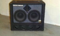 $250 Various bass guitar cabinets