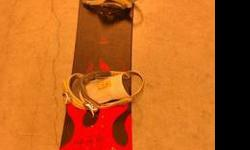 $250 World Industries Snow Board and Bindings