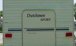$25,000 30' Dutchman Sport PAC n PLAY Travel Trailer & 2004