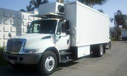 $25,750 2005 international 4300 19 foot cold plate reefer
