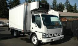 $25,750 2006 isuzu NQR 14 foot reefer box truck