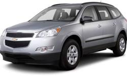 $25,952 2010 Chevrolet Traverse LT with 2LT