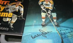 $25 Bobby Orr ~ Book with Autographed Picture