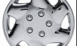 $25 Chrome Style Hubcap covers - 14, 15 or 16 inch, set of
