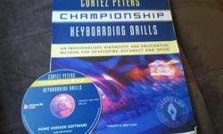 "$25 Cortez Peters' ""Championship Keyboarding Drills"""