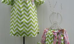 $25 Dress Women and Children Chevron dresses