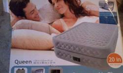 $25 for sale brand new raised air bed no holes tested