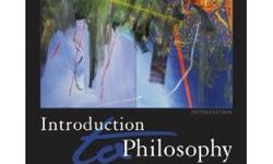 $25 Introduction to Philosophy: Classical and Contemporary