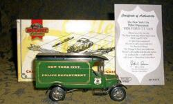 $25 Matchbox Models of Yesteryear Limited Edition - DYM
