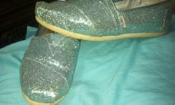 $25 OBO Blue Sparkly Tom's