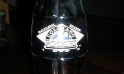 $25 Original Inaugural Season Colorado Rockies Coke Bottle,
