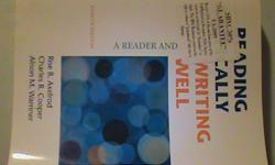 $25 Reading Critically, Writing Well- Eighth Edition