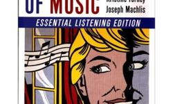 $25 The Enjoyment of Music: Essential Listening Edition (CD