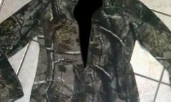 $25 Womens Camo 'Field & Stream' Jacket Coat Sz Medium