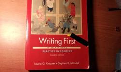 $25 WRITING FIRST 4th EDITION. ISBN: 9780312487607 -