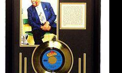 $264 B.B. King Giclee with Gold Record