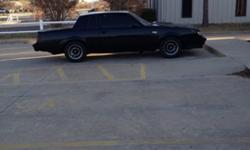 $26,000 OBO '87 Grand National For Sale