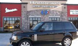 $26,900 Used 2006 Land Rover Range Rover 4dr Wgn HSE AWD