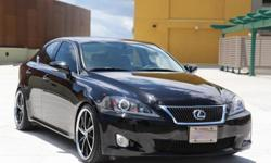 $26,999 OBO 2010 Lexus Is250 Drop Rims 16k Visor Blk on Blk