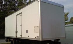 "26 ft long used truck body, 103"" high inside x 102"" W,"