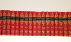 $275 Complete set of HARVARD CLASSICS in Hardcover, Mint