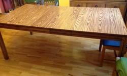 $275 Dining Table with 4 chairs