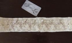 $275 OBO BEADED BELT (for wedding dress)