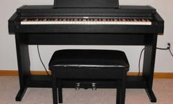 $275 OBO Roland HP900 Digital Piano w/ pedals and bench