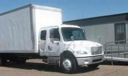 $27,000 2006 freightliner m-2 ext can 24 ft box truck
