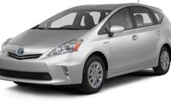 $27,719 2013 Toyota Prius v 5dr Wgn Two