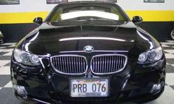 $27,900 2008 Jet Black BMW 3 Series
