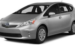 $27,940 2014 Toyota Prius v 5dr Wgn Two