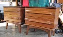 $280 Mid Century Night Stands or End tables__ Set of