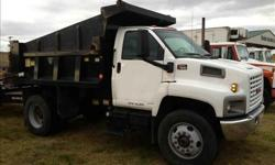 $28,500 Used 2004 gmc 7000 dump for sale.