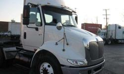 $28,500 Used 2006 International 8600 DAY CAB for sale.