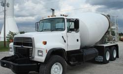$28,650 1997 Ford LT8000 Concrete Truck