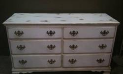$295 Long Solid Wood Dresser - Great for Changing Table