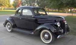 $29,000 1936 Ford 5W Coupe