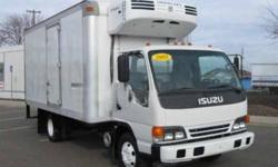 $29,500 2005 isuzu npr hd 16 foot reefer