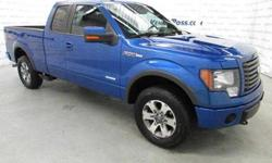 "$29,739 2011 Ford F-150 4WD SuperCab 145"" FX4"