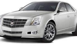 $29,999 2011 Cadillac CTS Sedan Performance