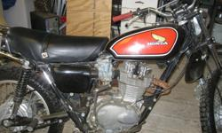 $2,000 1975 Honda XL 250 Enduro