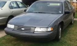 $2,000 1993 Chevrolet Lumina - Grey With Red Interior -