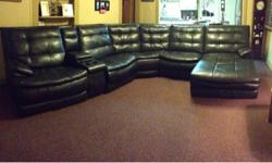 $2,000 Leather Sectional