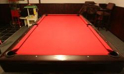 $2,000 OBO Hawethorn Brunswick Pool Table
