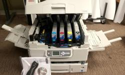 $2,000 OBO OKI C9650n Color Signage Color LED printer