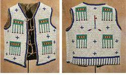 $2,000 Sioux Fully Beaded Child's Vest