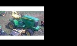 $2,399 2002 John Deere GX345 Mower/Riding